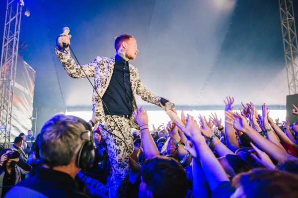 Photo credit: Frank Carter by Derek Bremmer/Download Festival