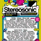 Stereosonic tickets