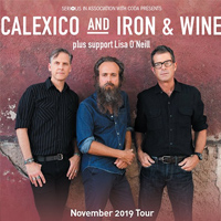 Calexico and Iron and Wine tour dates and tickets