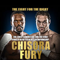 Dereck Chisora Vs Tyson Fury tour dates and tickets