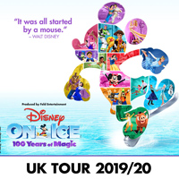 Disney On Ice 100 Years Of Magic tour dates and tickets