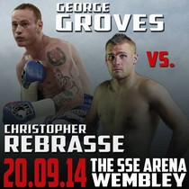 George Groves vs Christopher Rebrasse tour dates and tickets