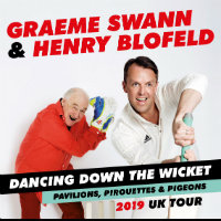 Graeme Swann and Henry Blofeld tour dates and tickets
