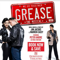 Grease The Musical Tickets