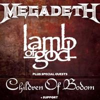 Megadeth And Lamb Of God Tickets