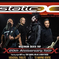 Static X tour dates and tickets