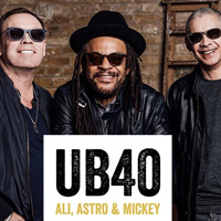 UB40 featuring Ali Astro and Mickey tour dates and tickets