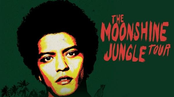 Bruno Mars Tickets For 'The Moonshine Jungle' UK And Ireland Tour ON SALE 9AM TODAY