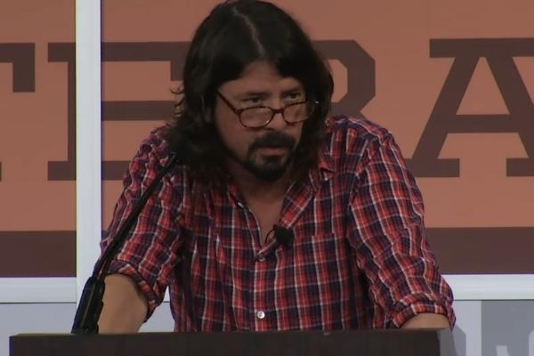 Dave Grohl Gives Keynote Address At SXSW Festival - Watch Now