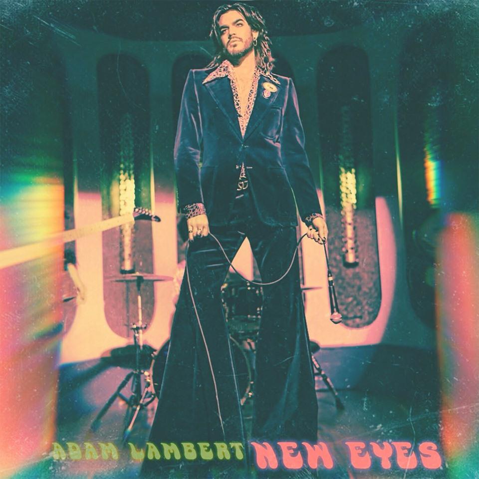 Adam Lambert Returns With New Single 'New Eyes'