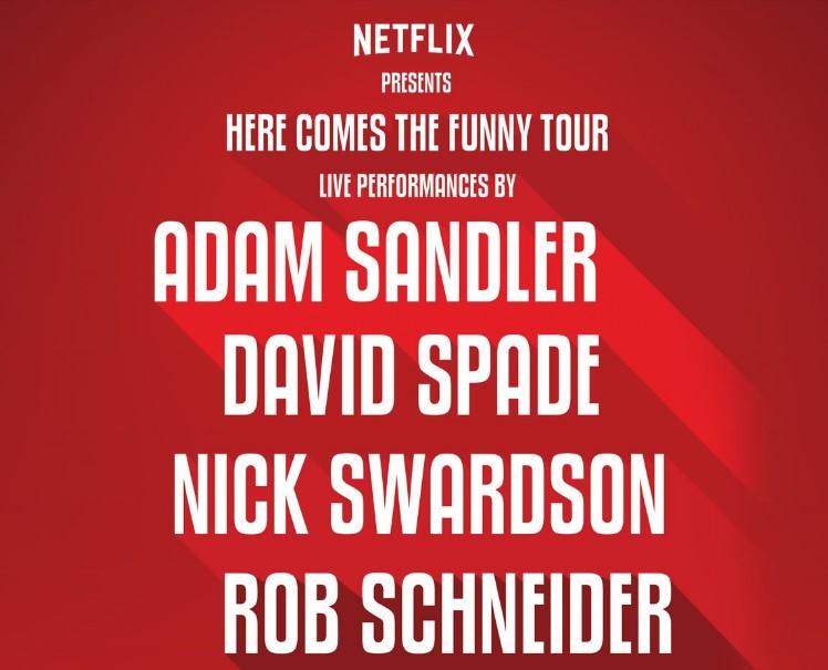 Adam Sandler Tour Dates