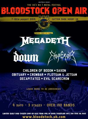 bloodstock have announced the addition of four more bands to