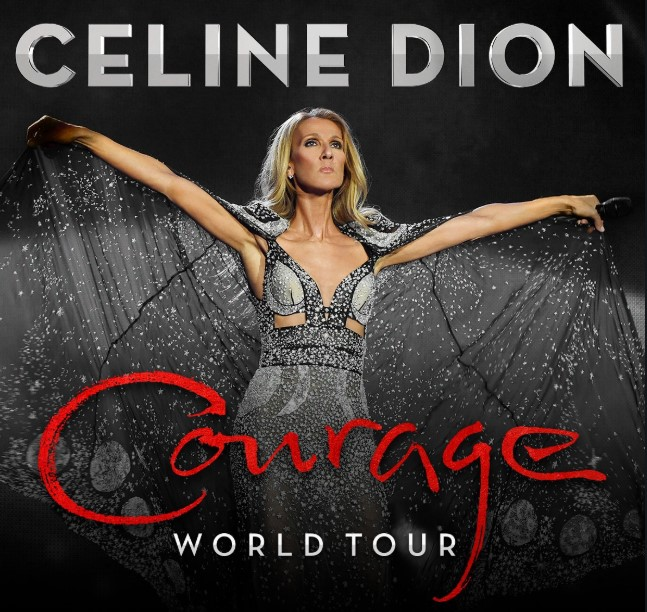 Beck Tour 2020.Celine Dion To Bring Courage World Tour To Uk And Europe In