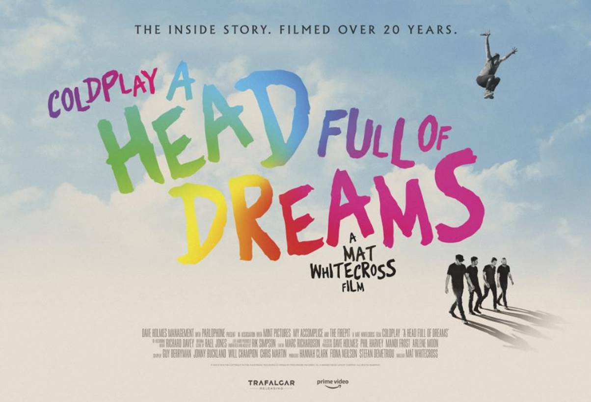 News Coldplay Treated to 'A Head Full of Dreams' Documentary