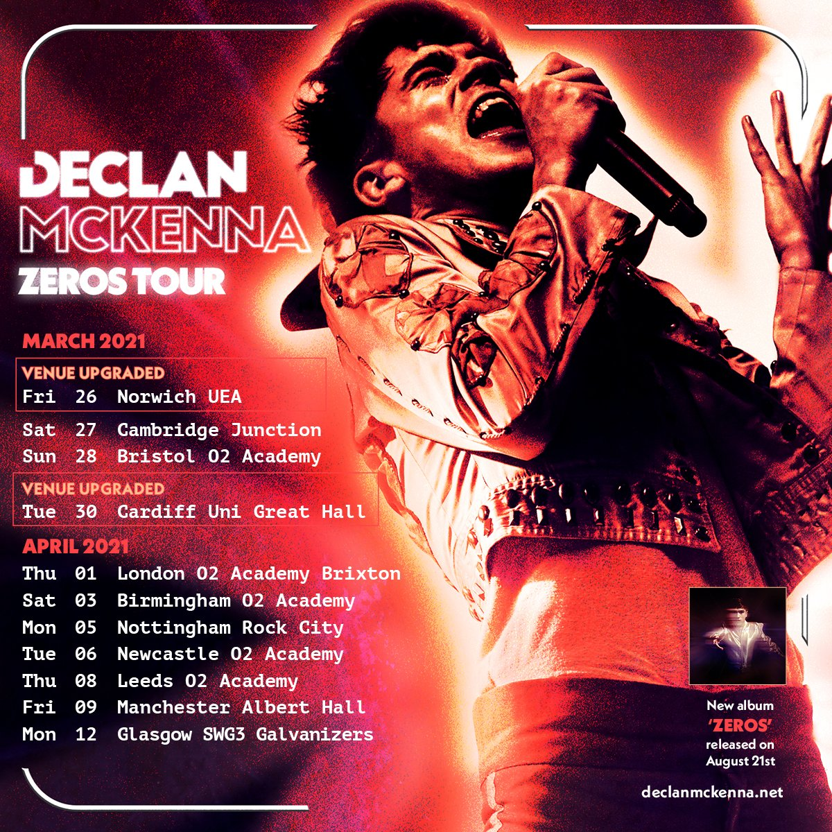 Declan McKenna Tickets For Spring 2021 UK And Ireland Tour On Sale 9am Today 2