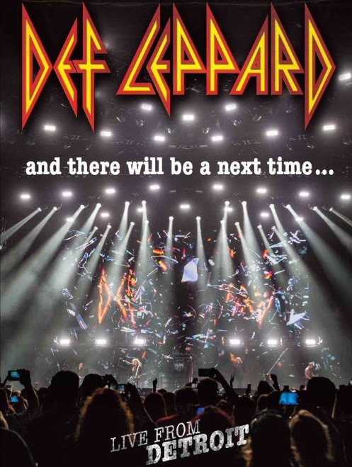 Image result for def leppard - and there will be a next time – live from detroit (