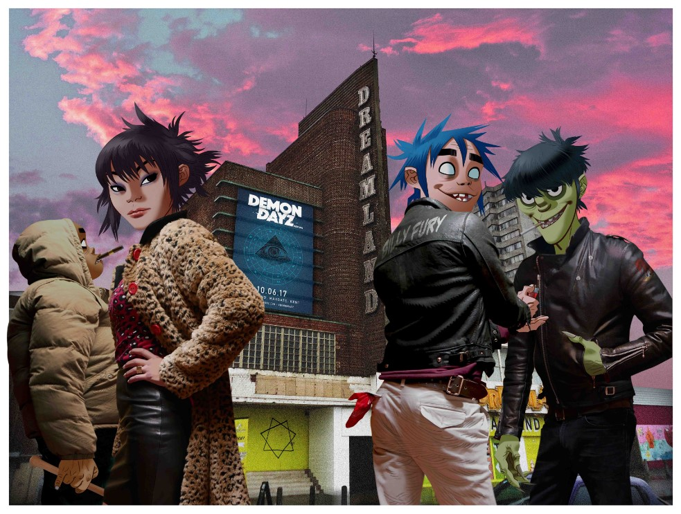 Virtual band Gorillaz launches virtual music video to promote Humanz album