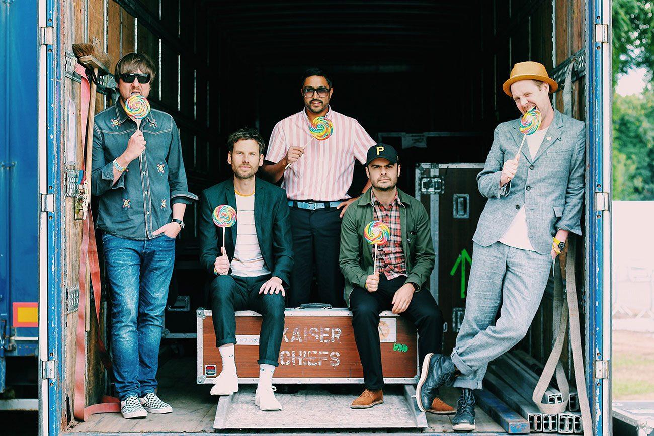Kaiser Chiefs Reschedule January Dates To June - Stereoboard