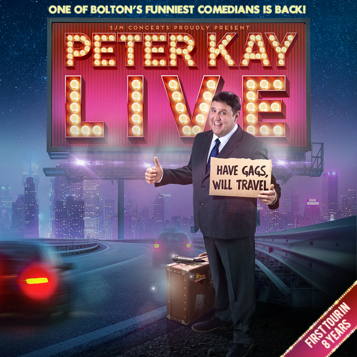 Peter Kay adds extra Leeds dates to United Kingdom  tour
