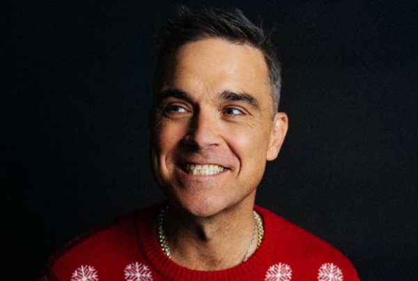 Robbie Williams drops amusing festive single 'Can't Stop Christmas'