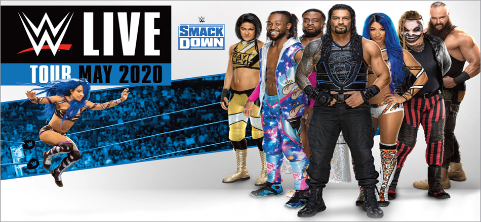 Wwe Events 2020 Schedule.Wwe Smackdown Live To Tour Uk Arenas In May 2020 Ticket