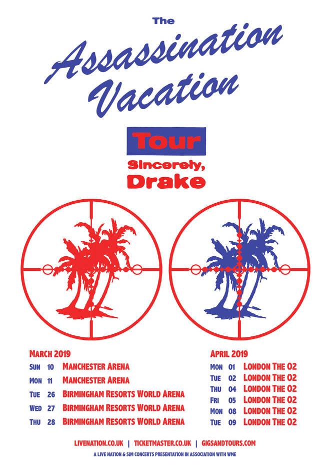 Drake 2019 UK Tour