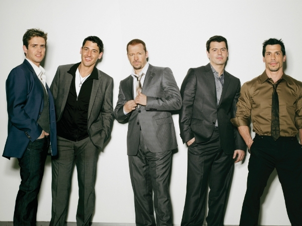 New Kids On The Block Claim New Album Has 'More Mature Vibe'