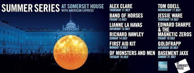 Alex Clare, Basement Jaxx, Lianne Le Havas & Richard Hawley Amongst Headliners For Someset House