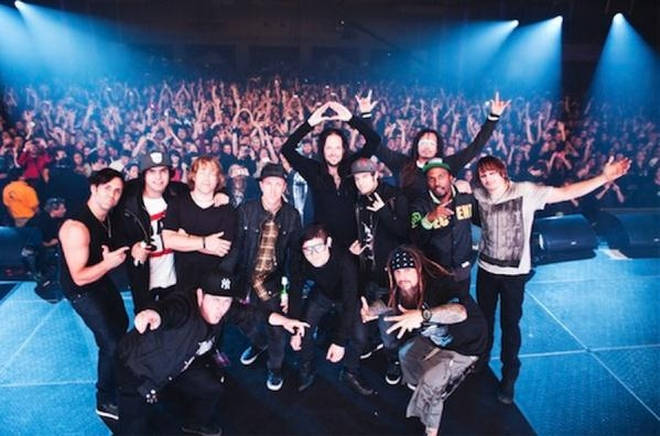 Korn To Release 'Live At The Hollywood Palladium' DVD Feat. Skrillex, Excision & More