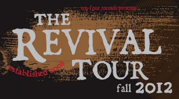 The Revival Tour Feat. Chuck Ragan, Cory Branan, Emily Barker, Jay Malinowski To Hit UK This Autumn