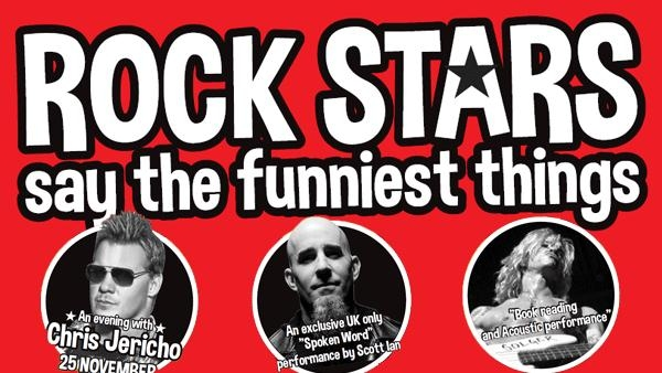 Duff McKagan, Scott Ian And Chris Jericho Confirmed For 'Rockstars Say The Funniest Things'