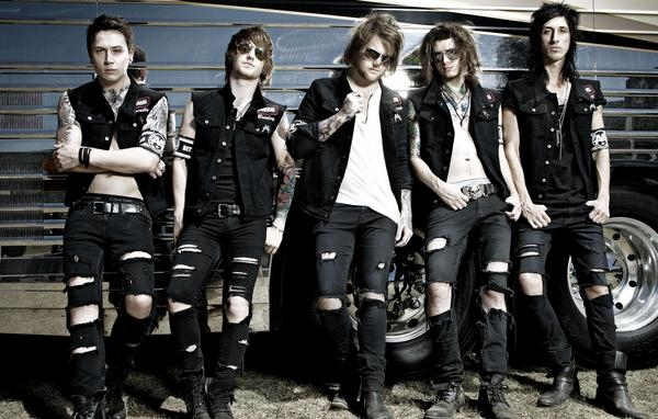 Asking Alexandria Sell Out London's Brixton Academy