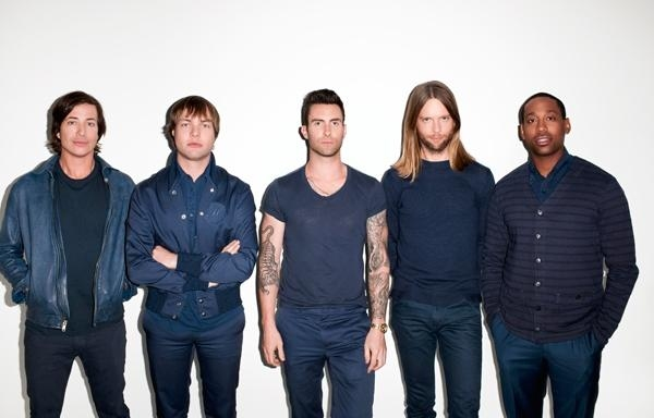 Maroon 5 Tickets For Summer 2013 UK Tour ON SALE 9AM TODAY