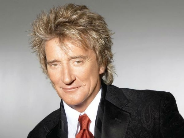 Rod Stewart Performs Alongside Kylie Minogue And Michael Buble in ITV Christmas Special