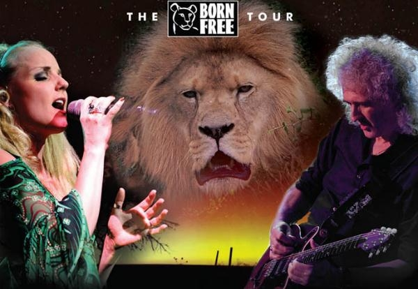 Brian May And Kerry Ellis Announce June 'Born Free' UK Tour
