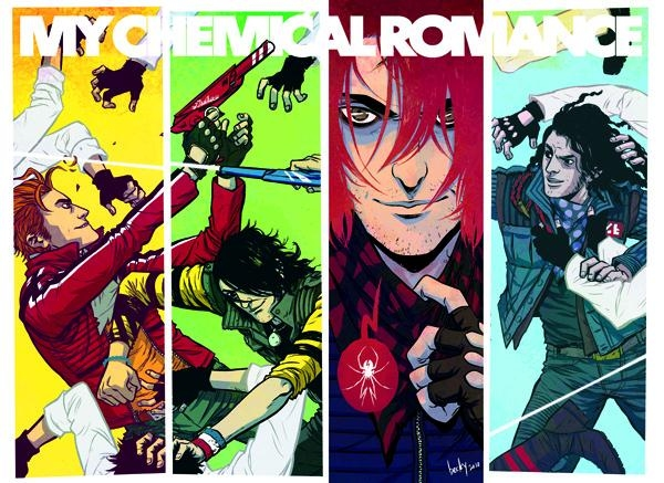 Stereoboard Look At Bands In Comic Books (My Chemical Romance, KISS, Rob Zombie, Stone Sour Feature)