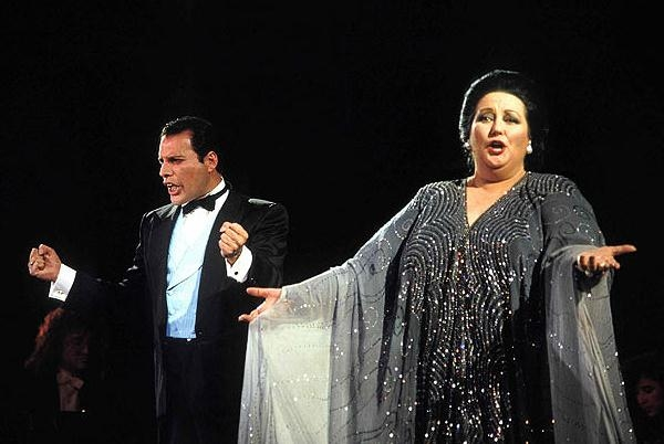 Freddie Mercury And Montserrat Caballé's 'Barcelona' Album Gets 25th Anniversary Reissue