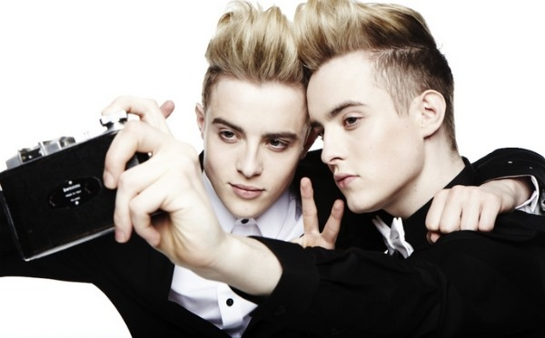 Jedward Drop The Quiffs For New Album Cover