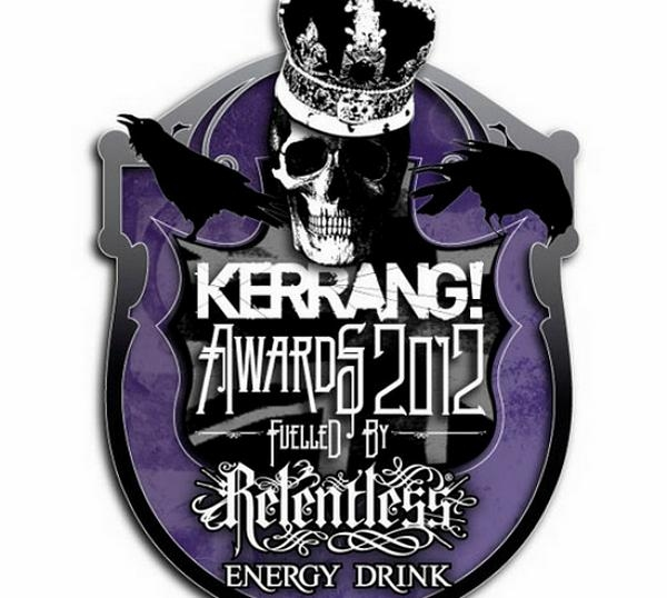 Kerrang! Awards 2012 Fuelled By Relentless Energy Drink - Winners Announced!