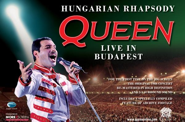 Queen To Release 'Hungarian Rhapsody – Live In Budapest' DVD