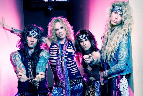 Stereoboard Tour of the Week - Steel Panther