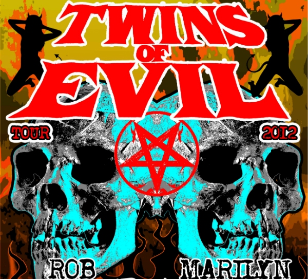 Rob Zombie And Marilyn Manson Falling Out Over Twins Of Evil Tour?