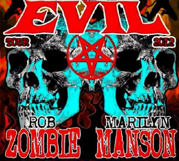 Rob Zombie And Marilyn Manson Announce Co-Headline 'Twins Of Evil' UK Tour & Tickets